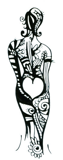 Femme tatoo